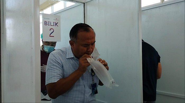 Gelar Simulasi, Mulai Besok Bandara Syamsudin Noor Banjarmasin Mulai Terapkan GeNose C19