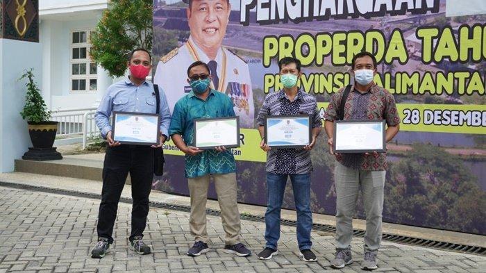 PT Arutmin Indonesia bersama mitra kerja mendapatkan empat penghargaan Proper Daerah (Properda).