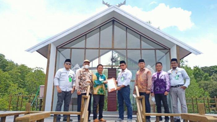 PT Arutmin Indonesia Tambang Batulicin, meresmikan Rumah Sasirangan