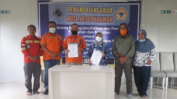 PT Arutmin Indonesia Tambang Kintap tandatangani MoU bersama Fakultas Perikanan dan Kelautan Universitas Lambung Mangkurat (ULM)