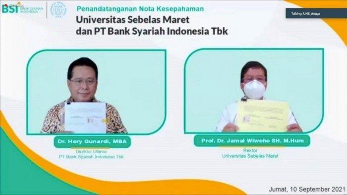 Bank Syariah Indonesia Fasilitasi Layanan Perbankan Syariah UNS