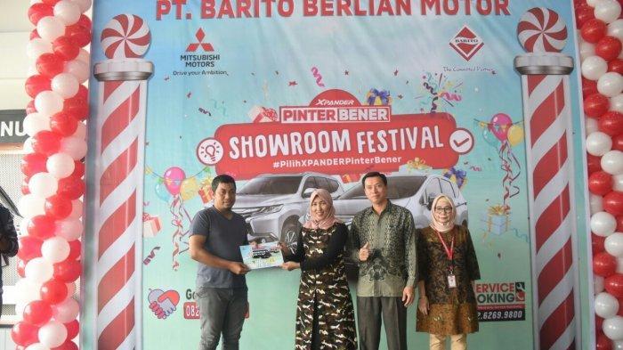 Gelar Showroom Festival Xpander Pinter Bener, Barito Berlian Motor Manjakan Costumer dengan ini