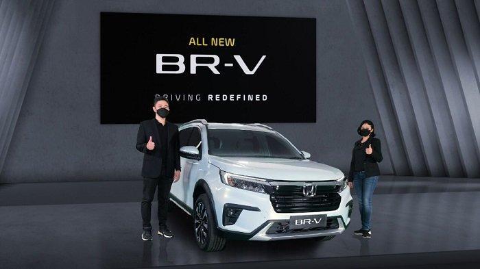 Diluncurkan Virtual, Begini Desain Baru All New Honda BR-V dengan Fitur Kian Canggih