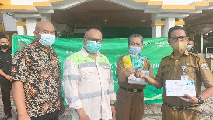 Dukung PTM Terbatas, PT Indonesia Bulk Terminal (IBT) Serahkan Bantuan 1.000 Paket Masker & Vitamin