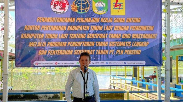 PT PLN (Persero) menerima 87 sertifikat tanah dari BPN Tanah Laut di Pelaihari