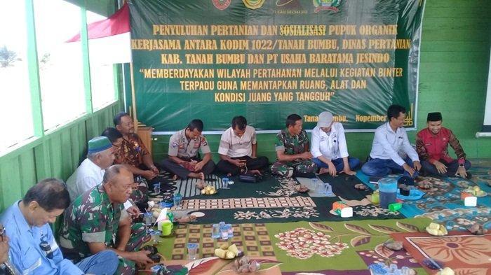 PT UBJ Harap Kesejahteraan Warga Meningkat, Gelar Penyuluhan Pertanian dan Sosialisasi Pupuk Organik
