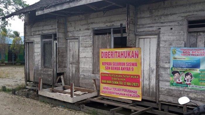 Masuk Zona Orange, SDN Banua Anyar 9 Banjarmasin Tunda PTM Terbatas