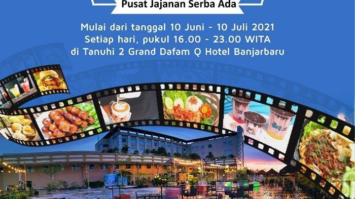 Pujasera Segera Hadir di Pooldeck Grand Dafam Banjarbaru, Pengunjung Suka Pilih Kuliner Kekinian