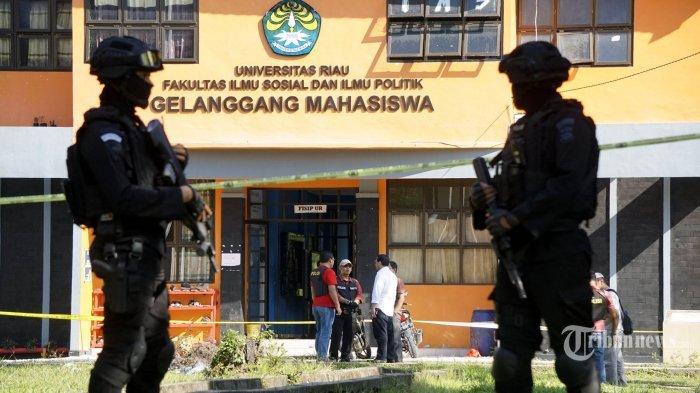 Duh! Ternyata Daya Ledak Bom yang Dirakit Alumni Universitas Riau Ini Setara Bom di Surabaya