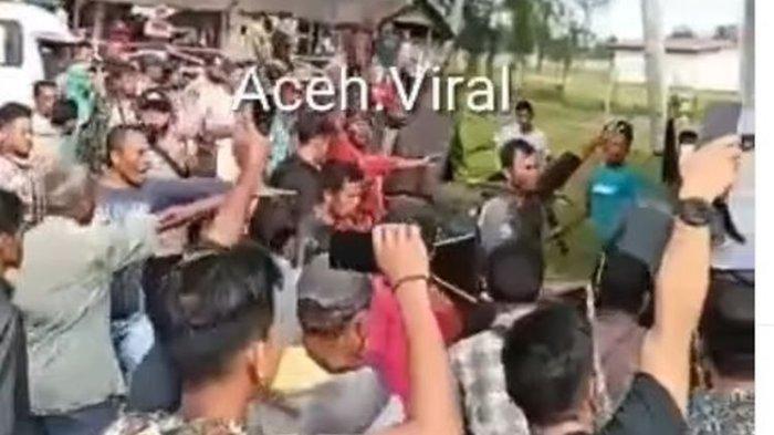 Viral Gerai Vaksinasi di Aceh Diobrak-abrik, Pedagang Ikan Mengaku Penjualan Jadi Sepi