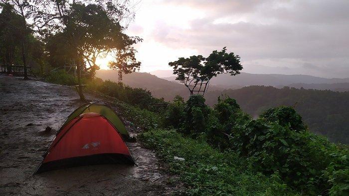 Serunya Kemping di Puncak Arta Aranio Kabupaten Banjar, Selalu Ramai di Akhir Pekan
