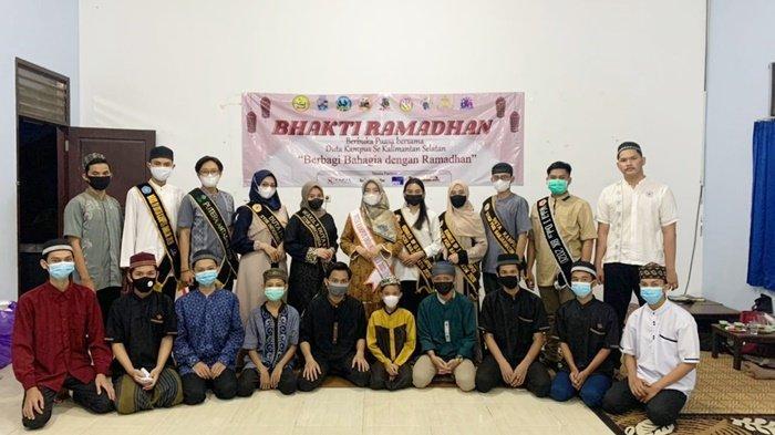 Duta Kampus se Kalsel Buka Bersama di Panti Asuhan Ashabul Yamin Banjarmasin
