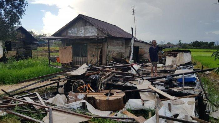 Puting Beliung Kalsel, Ternyata Sejumlah Desa di Kecamatan Martapura Barat Dilanda Angin Kencang