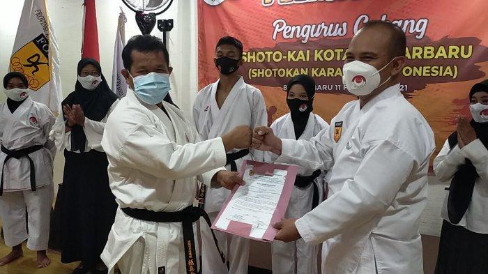 Pimpin Shoto-Kai Banjarbaru, Qomal Siap Gerakkan Roda Organisasi