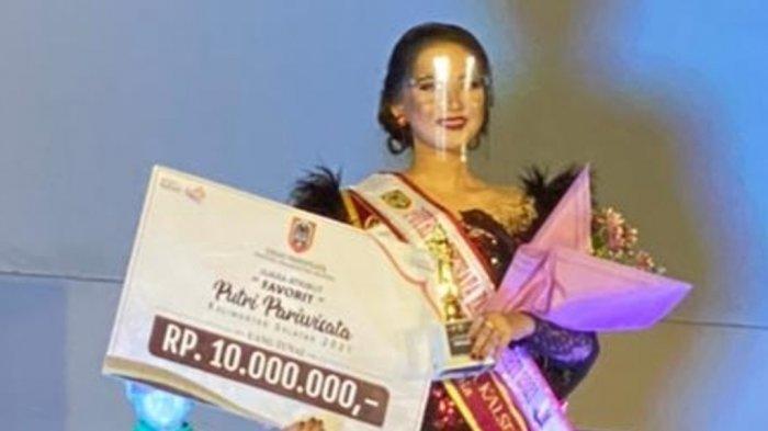 Mengisi Waktu Luang, Putri Pawisata Favorit Kalsel Lakukan Photoshoot