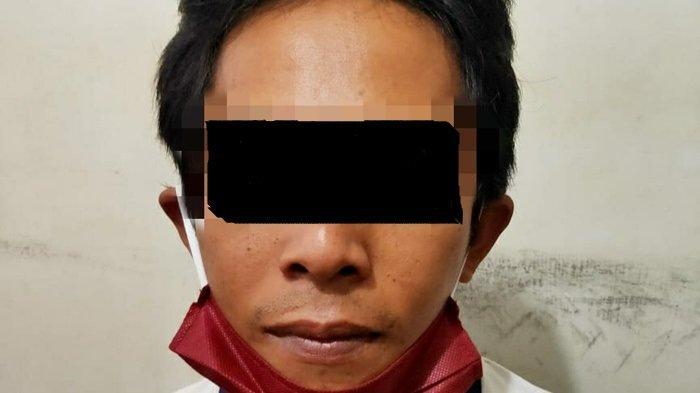 Asyik Judi Togel Online di Warung, Pelaku Diamankan Anggota Polres Tabalong
