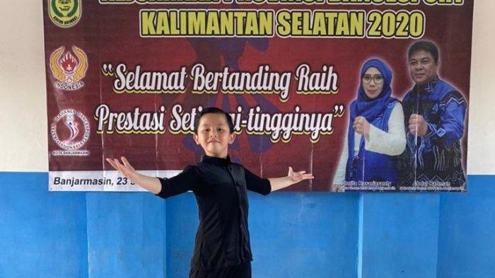 Youtuber Banua Jadi Raja Baru Atlet Dancesport Cilik