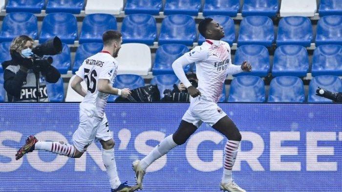 Link Live Streaming AC Milan vs Sassuolo di TV Online Liga Italia, Zlatan Ibrahimovic Absen