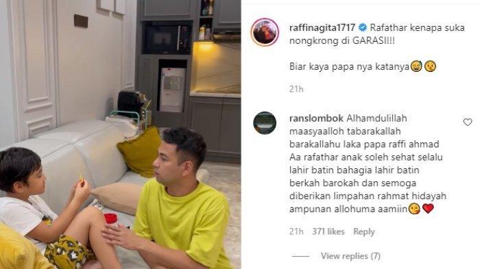 Kepanikan Raffi Ahmad Saat Rahasianya Dibongkar Rafathar, Terjadi di Depan Nagita Slavina