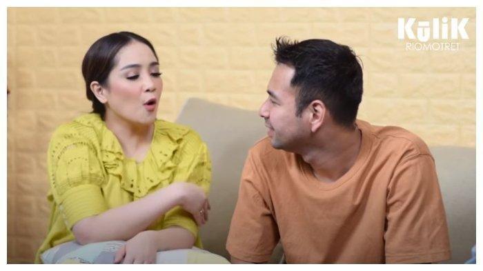 Raffi Ahmad dan Nagita Slavina, Jumat (28/8/2020).