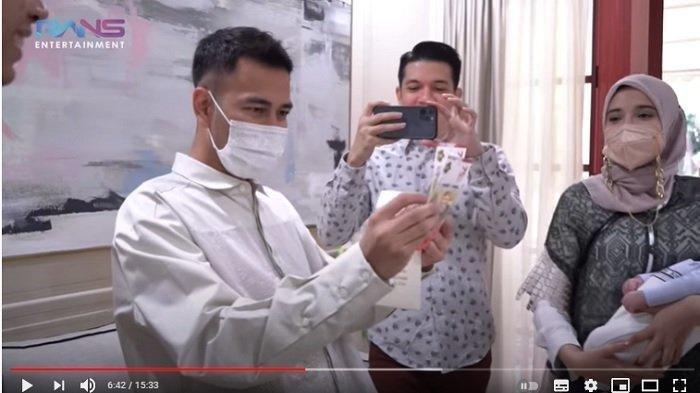 Intip Jumlah Uang THR Ukkasya & Kiano dari Raffi-Gigi, Putra Zaskia Sungkar dan Irwansyah Dapat Ini