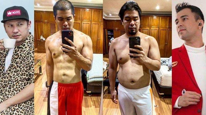 Raffi Ahmad dan Gading Marten syok lihat perubahan tubuh Bams eks Samsons