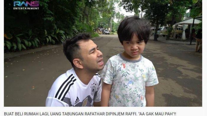 Satu Permintaan Rafathar yang Sulit Dipenuhi Raffi Ahmad dan Nagita, Cucu Mama Rita Ingin Ini