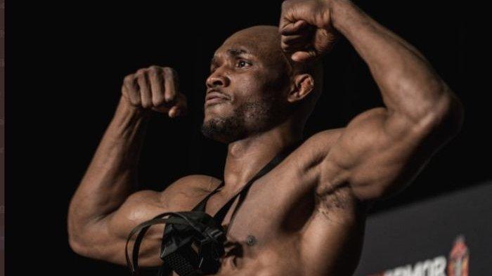 Juara UFC Kamaru Usman Jawab Tantangan YouTubers Jake Paul : 'Saya Bukan Anak Disney'
