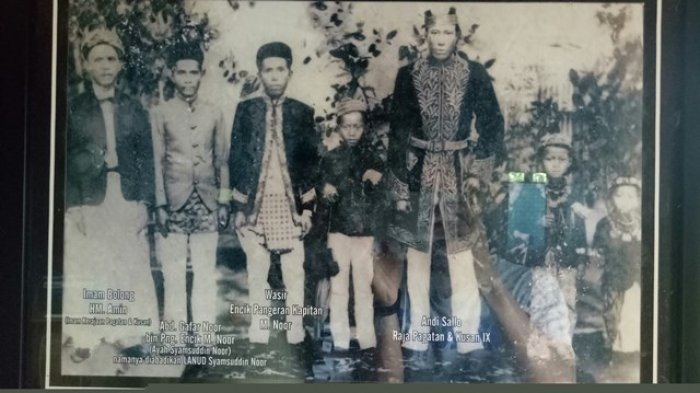 Kisah Raja Pagatan dalam  Sejarah Perjalanan Kerajaan Banjar