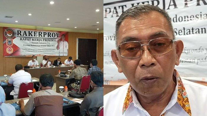 Gelar Rakerprov, pengurus Taekwondo Kalsel Bahas Penguatan Organisasi hingga Pembinaan Atlet