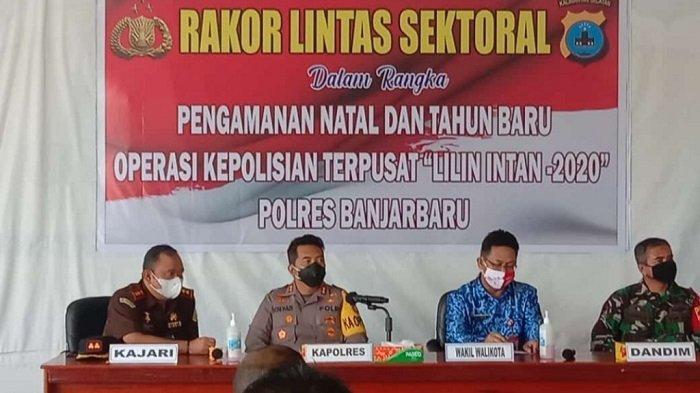 Jaga Situasi Kondusif Jelang Natal dan Tahun Baru, Polres Banjarbaru Gelar Operasi Lilin Intan 2020