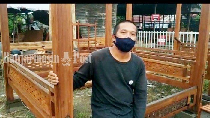 Gazebo di Banjarbaru Dijual Rp 15 Juta Hingga Rp 29 Juta, Ramai Juga Dibeli Warga