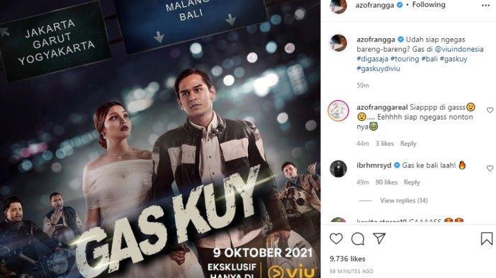 Link Film 'Gaskuy' 9 Oktober 2021 di VIU Indonesia, Rangga Azof Sejudul dengan Nadira Adnan