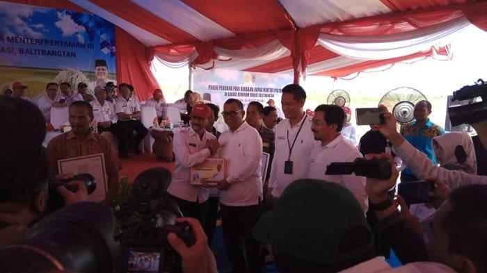 Area Percontohan Lahan Pertanian Produktif di Kalsel Capai 120.000 hektare