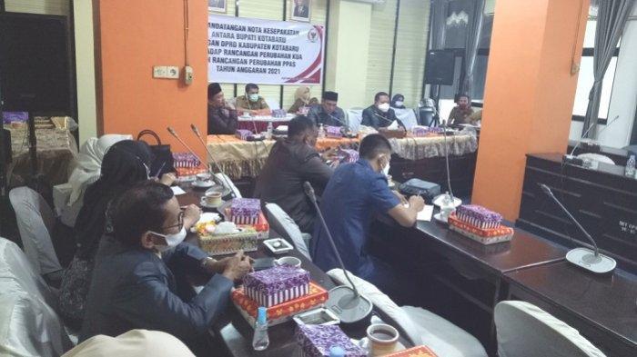 Surati Bupati Soal Nasib TNP, Ketua DPRD Kotabaru : Tenaga Non Pegawai Bekerja Sampai Desember 2021