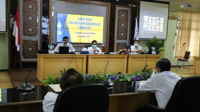 Gelar Rapat Kerja, UIN Antasari Banjarmasin Susun Anggaran Tahun 2022