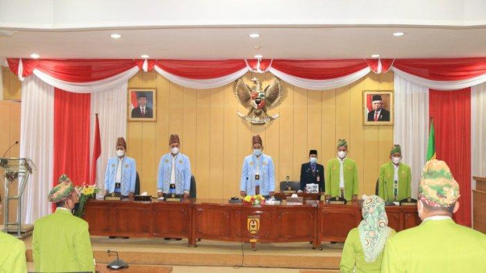 Dewan Gelar Rapat Paripurna Memperingati Hari Jadi ke-22 Kota Banjarbaru