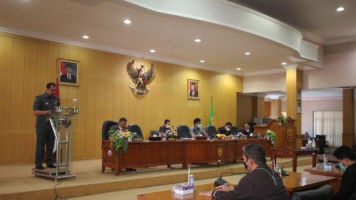 DPRD dan Pemko Bahas Propemperda perubahan kota Banjarbaru tahun 2021
