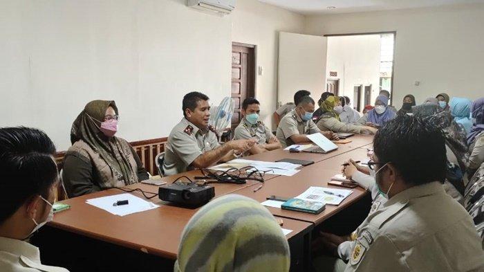 Rapat Persiapan Kantor Pertanahan Tanahlaut untuk Penilaian Pembangunan Zona Integritas