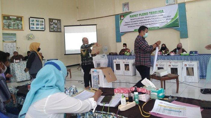Pleno Hasil PSU Pilgub Kalsel 2020 di Binuang Diwarnai Protes, BirinMU Menang Telak