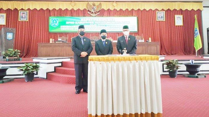 Raperda APBD Perubahan Tahun Anggaran 2021 Disahkan di DPRD Kabupaten HSS
