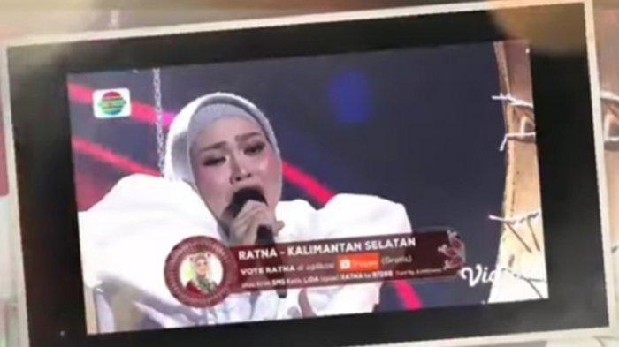 Konser Top 6 Besar Lida 2021, Nassar Teteskan Air Mata Mendengar Ratna Lantunkan 'Renungkanlah'