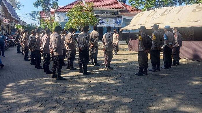 Kawal Rapat Pleno PSU Pilgub Kalsel, Polresta Banjarmasin Siagakan Ratusan Personel