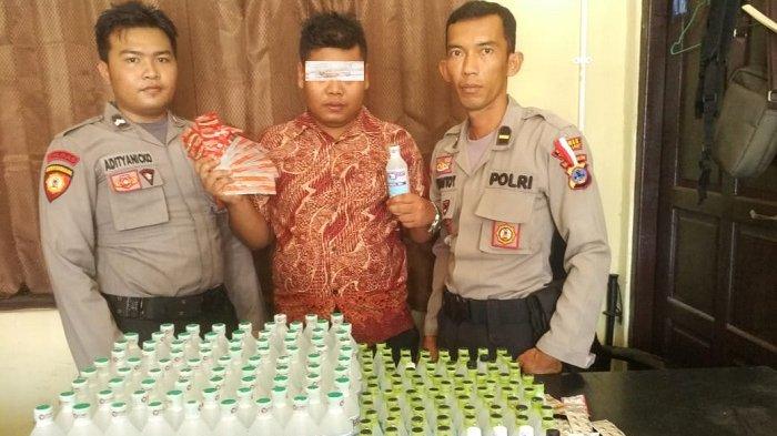 Penjual Alkohol di Tanahlaut Ini Mengaku Beli Barang Haram di Pasar Cempaka Banjarmasin