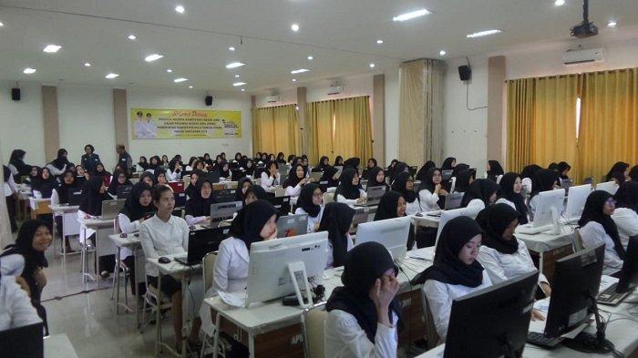 Digelar Empat Sesi, Hari Pertama Pelaksanaan Tes CPNS di HSU Delapan Peserta Tidak Hadir
