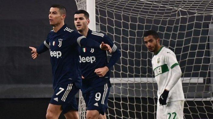 Susunan Pemain Juventus vs Inter Milan Coppa Italia Live TVRI, Morata & Bonucci Absen, Ronaldo Main