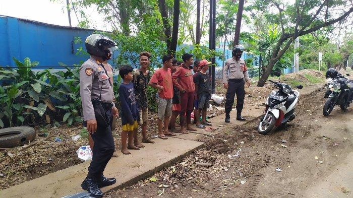Duduk di Tepi Jalan, Haris Cs Terjaring Petugas Gabungan Penegakan Perwali Banjarmasin