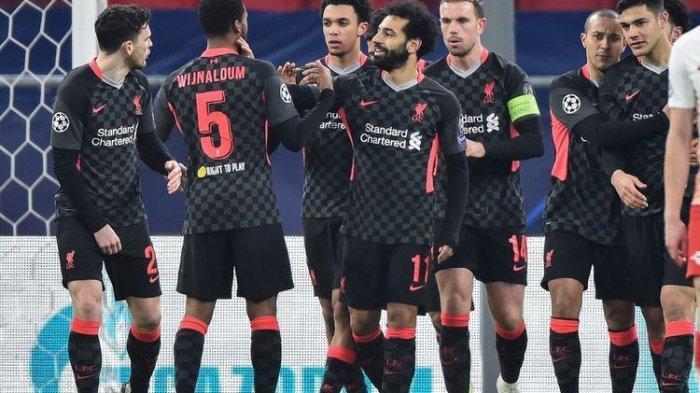 Hasil RB Leipzig vs Liverpool 0-2, Hattrick Kekalahan Mo Salah cs Berakhir di Liga Champions
