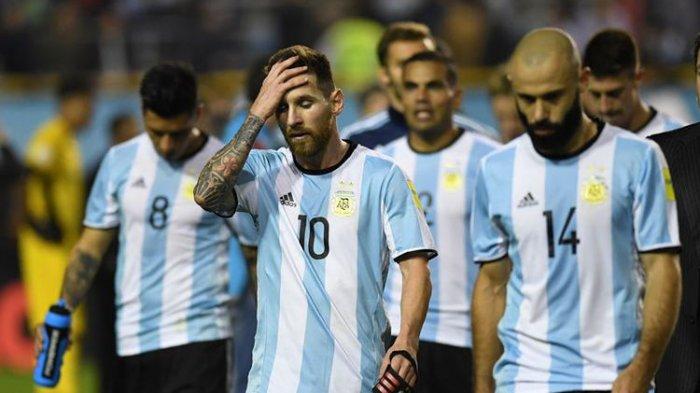 Ujicoba Argentina vs Uruguay di Laga Persahabatan Tak Live Streaming MolaTV, Lionel Messi vs Suarez