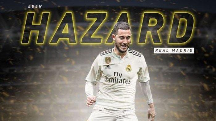 Eden Hazard Siap Merumput di El Clasico Liga Spanyol antara Real Madrid vs Barcelona